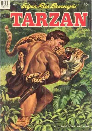 Tarzan (1948) 55-A by Dell