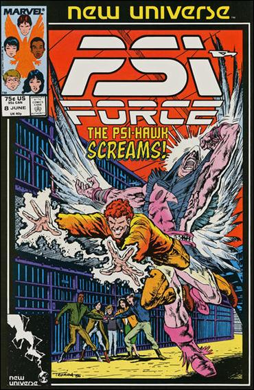 Psi-Force 8-A by Marvel
