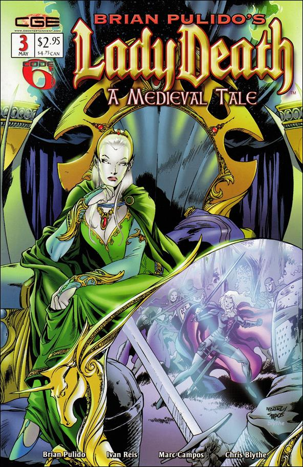 Brian Pulido's Lady Death: A Medieval Tale 3-A by CrossGen