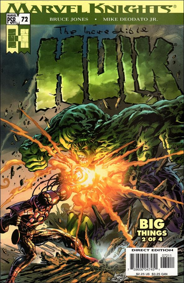 Incredible Hulk (2000)  72-A by Marvel