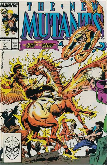 New Mutants (1983) 77-A by Marvel