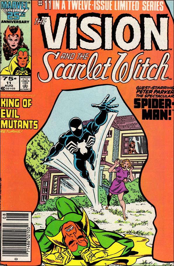 Vision and the Scarlet Witch (1985) 11-A by Marvel