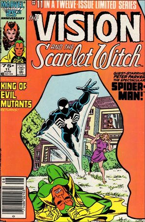 Vision and the Scarlet Witch (1985) 11-A