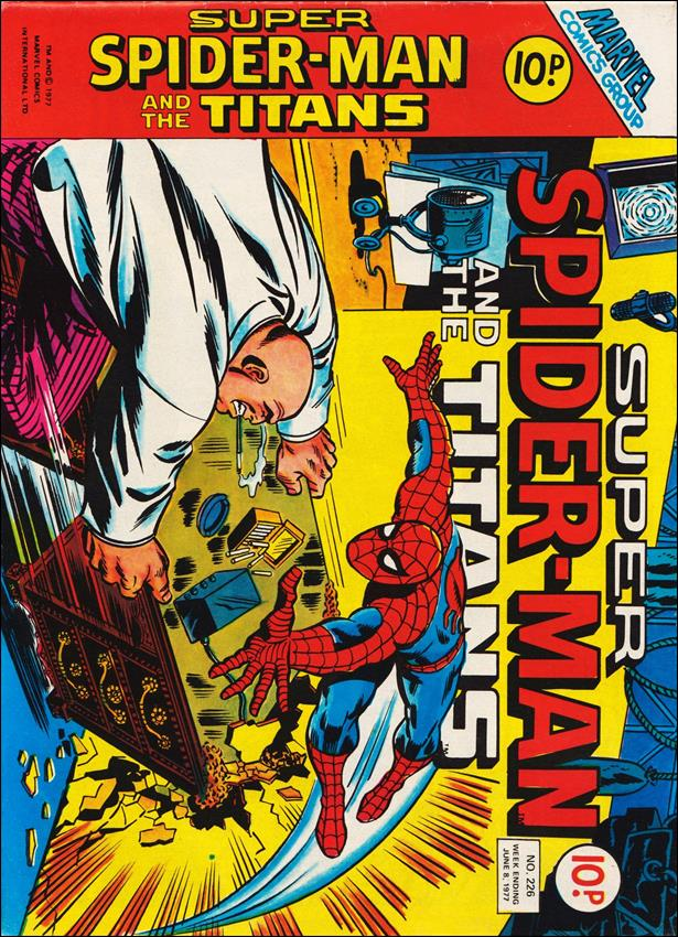 Spider-Man: Comics Weekly (UK) 226-A by Marvel UK