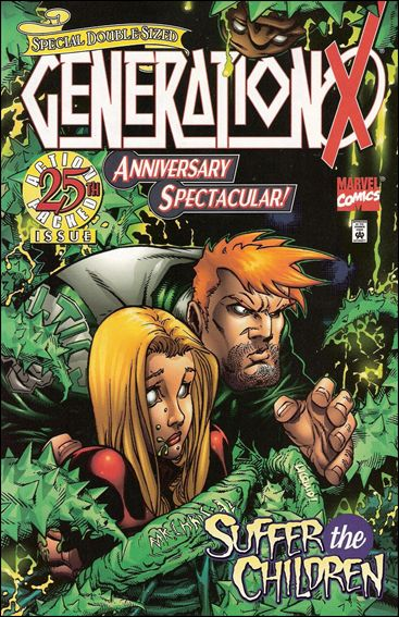 Generation X 25-A by Marvel