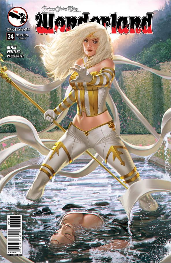 Grimm Fairy Tales Presents Wonderland 34-C by Zenescope Entertainment