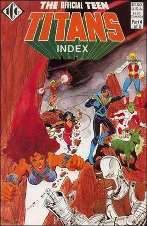 Official Teen Titans Index 4-A