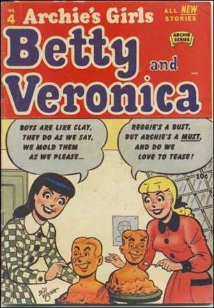 Archie's Girls Betty & Veronica 4-A