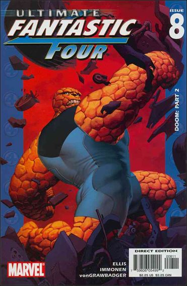 Ultimate Fantastic Four 8-A by Marvel