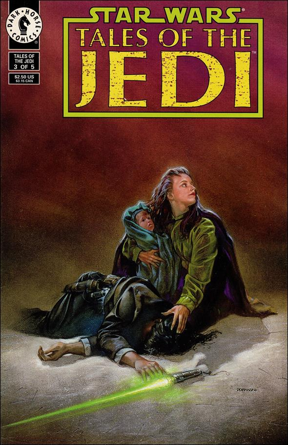 Star Wars: Tales of the Jedi 3-A by Dark Horse