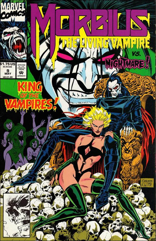 Morbius: The Living Vampire (1992) 9-A by Marvel