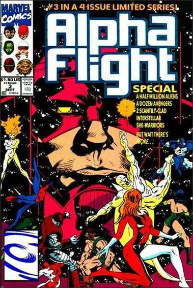 Alpha Flight Special (1991) 3-A by Marvel