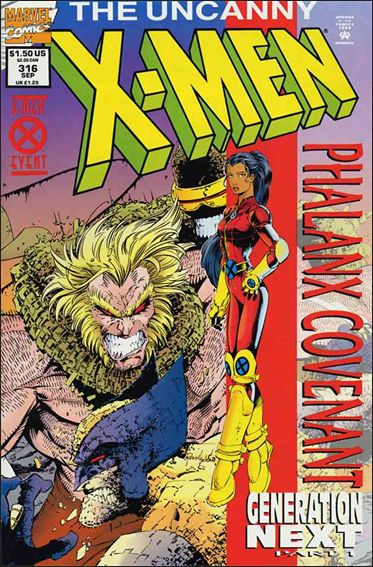 Uncanny X-Men (1981) 316-B by Marvel
