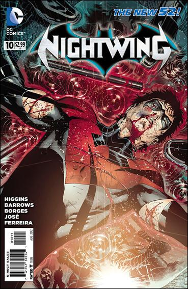 Nightwing (2011) 10-A by DC