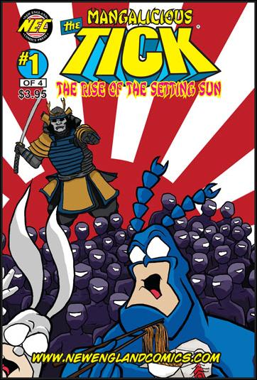 Mangalicious Tick: The Rise of the Setting Sun 1-A by New England Comics Press (NEC / NECP)