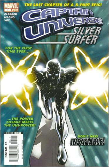 Captain Universe/Silver Surfer 1-A by Marvel