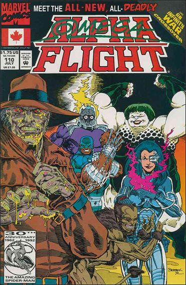 Alpha Flight (1983) 110-A by Marvel