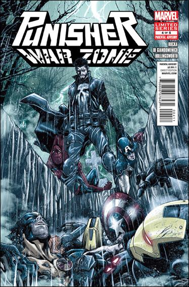 Punisher: War Zone (2012) 4-A by Marvel