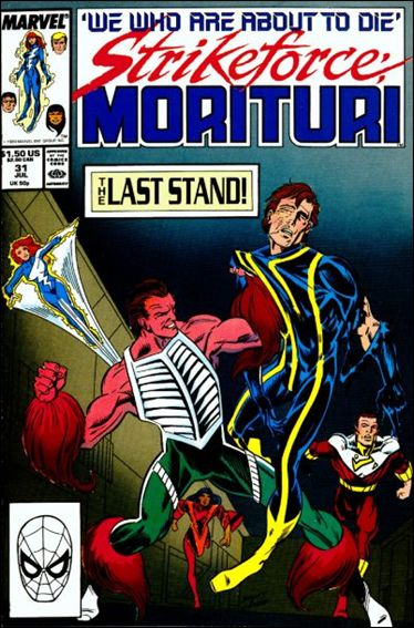 Strikeforce: Morituri 31-A by Marvel