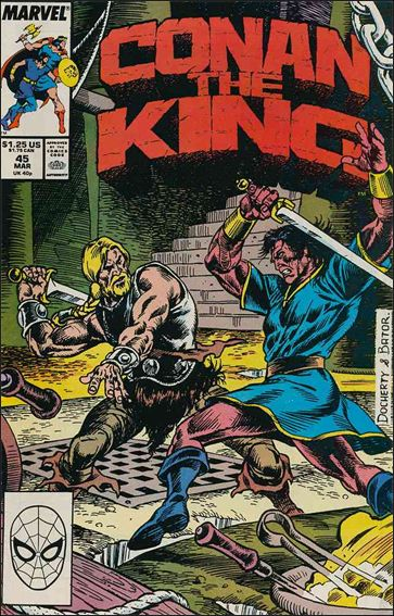 Conan the King 45-A by Marvel