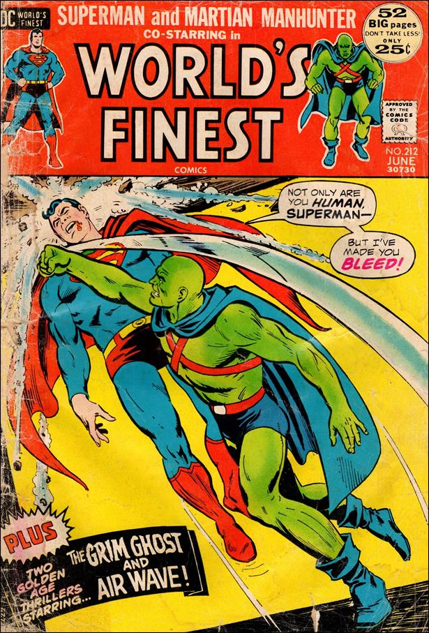 World's Finest Comics 212-A by DC