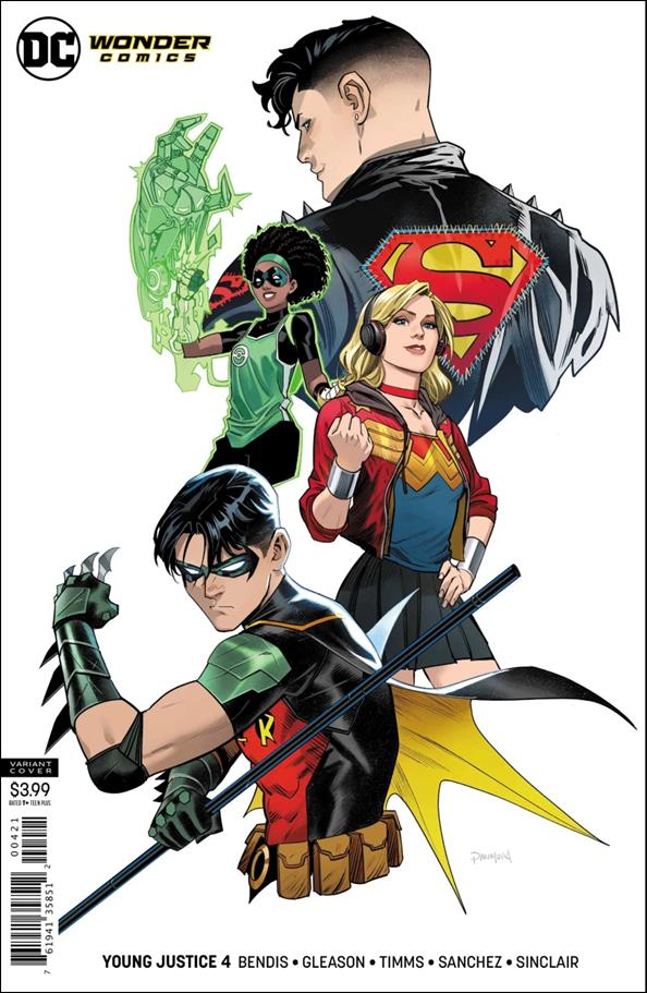 Young Justice (2019) 4-B by Wonder Comics