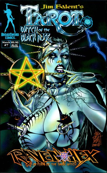 Tarot: Witch of the Black Rose 7-A by BroadSword Comics