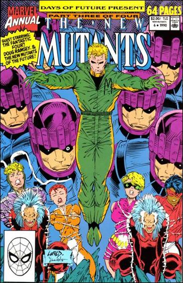 New Mutants Annual 6-A by Marvel