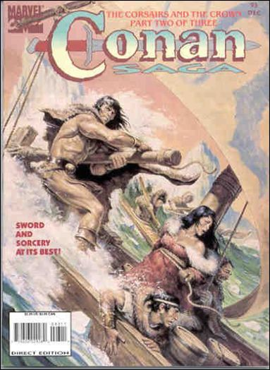 Conan Saga 93-A by Marvel