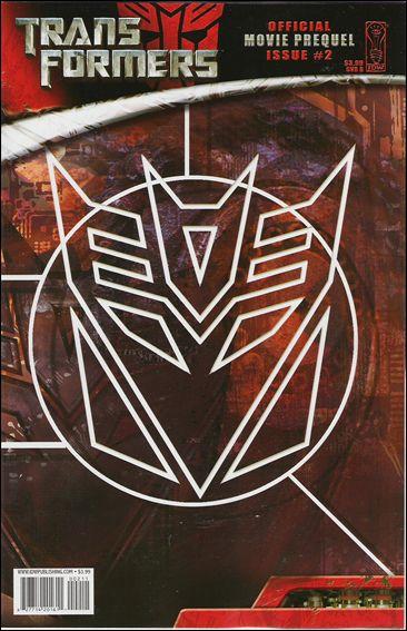 Transformers: Movie Prequel 2-B by IDW