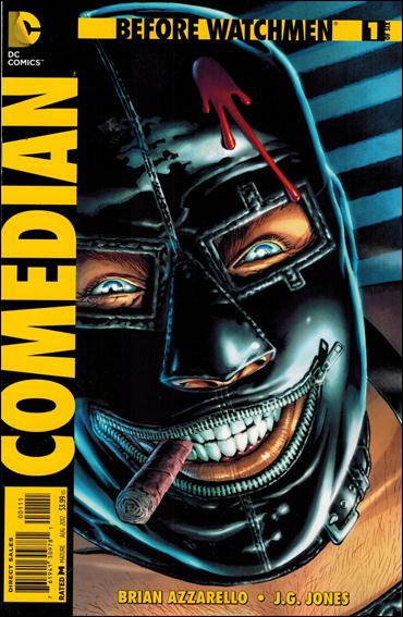 Before Watchmen: Comedian 1-A by DC