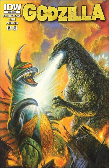 Godzilla (2012) 10-A by IDW