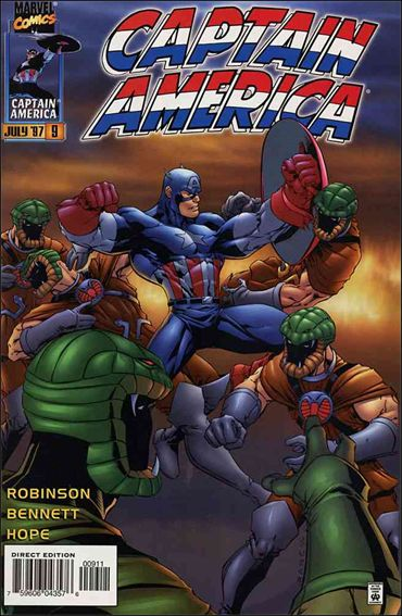Captain America (1996) 9-A by Marvel