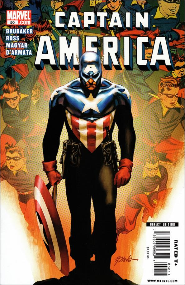 Captain America (2005) 50-A by Marvel