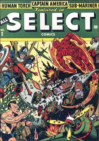 All-Select Comics 2-A by Marvel