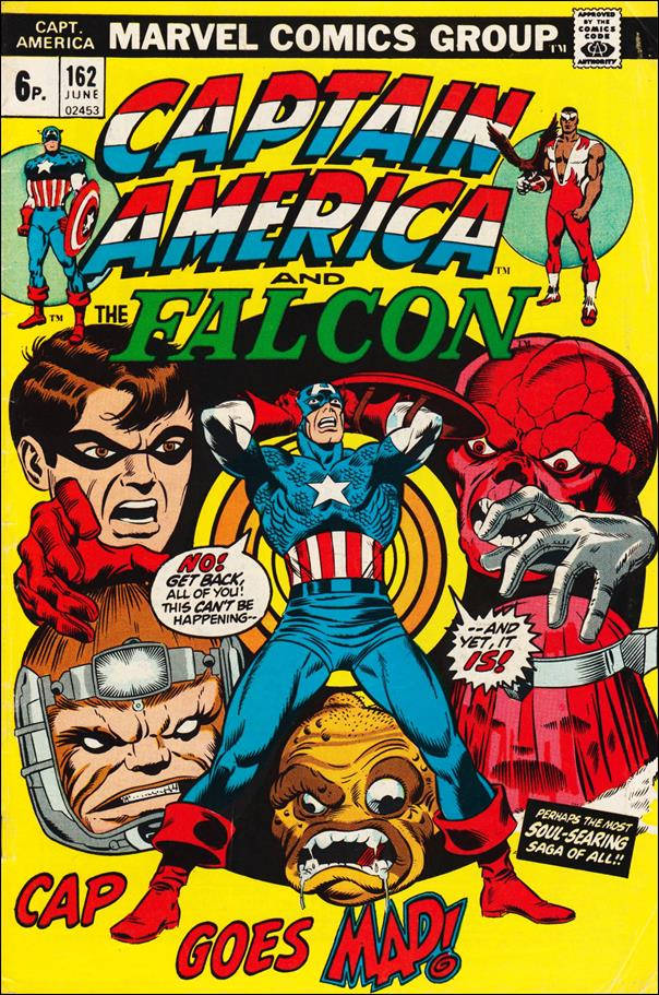 Captain America (1968) 162-B by Marvel