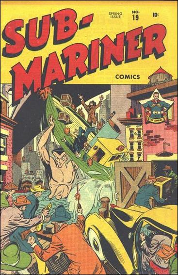 Sub-Mariner (1941) 19-A by Atlas
