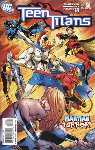 Teen Titans (2003) 58-A by DC
