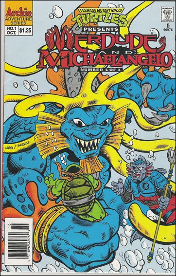 Teenage Mutant Ninja Turtles Presents: Merdude 1-A by Archie
