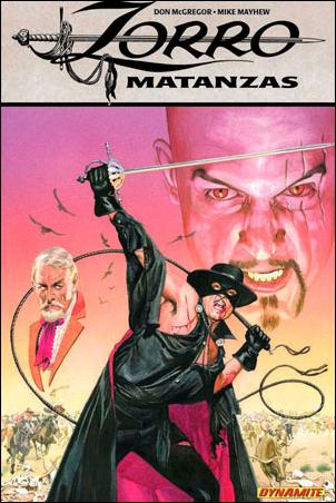 Zorro: Matanzas 1-A by Dynamite Entertainment