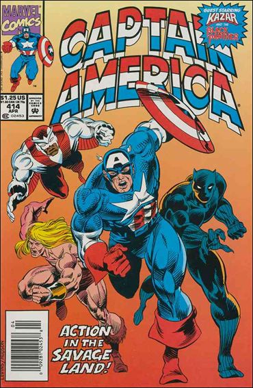 Captain America (1968) 414-A by Marvel