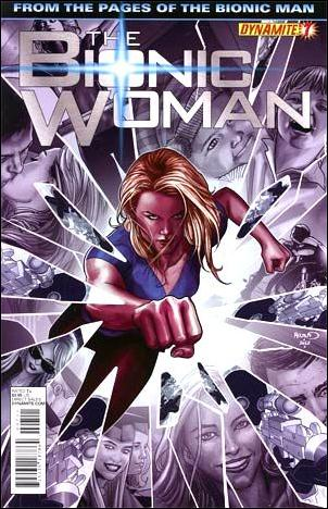 Bionic Woman (2012) 7-A by Dynamite Entertainment