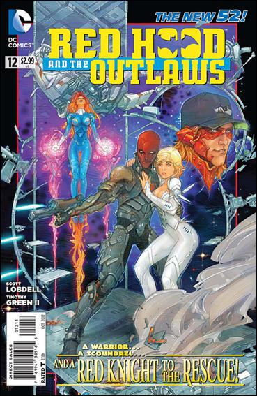 Red Hood and the Outlaws  12-A by DC