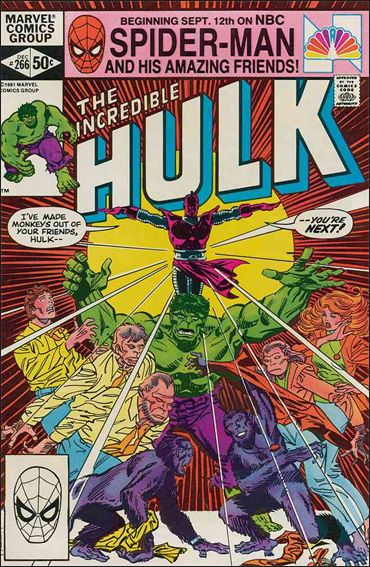 Incredible Hulk (1968) 266-A by Marvel
