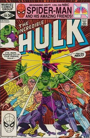 Incredible Hulk (1968) 266-A