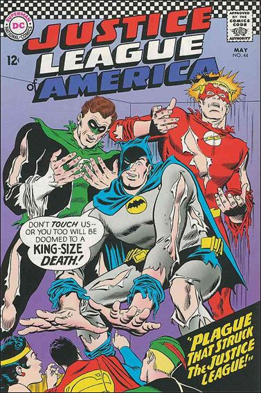 Justice League of America (1960) 44-A by DC