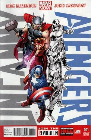 Uncanny Avengers (2012) 1-I by Marvel