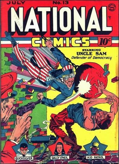 National Comics (1940) 13-A by Quality