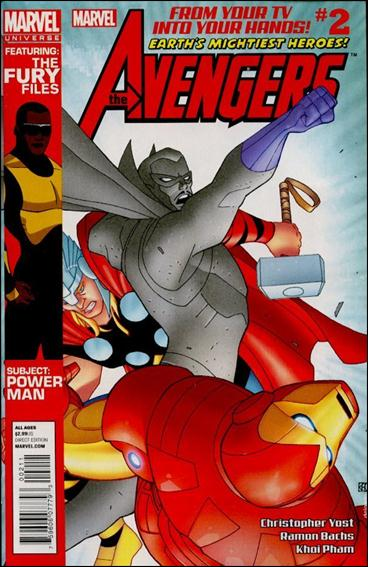 Avengers Earth's Mightiest Heroes (2012) 2-A by Marvel