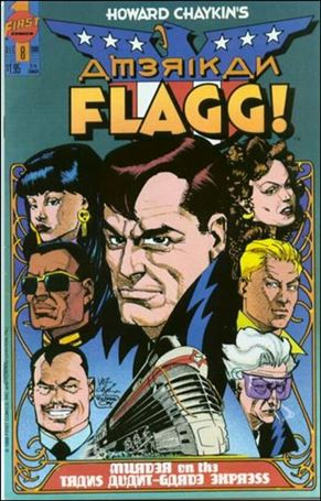 Howard Chaykin's American Flagg!  8-A